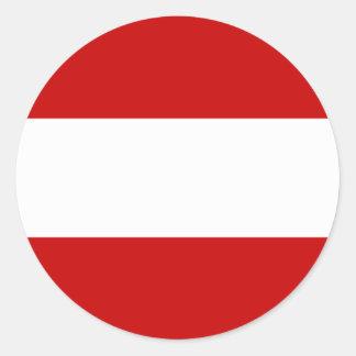Dubec praha, Czech Round Sticker