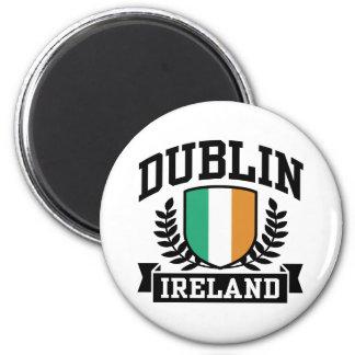 Dublin 6 Cm Round Magnet