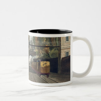 Dublin and Kingstown Railway: Granite Pavilions an Two-Tone Coffee Mug