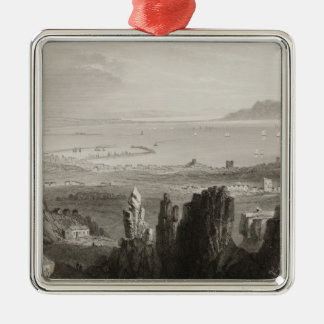 Dublin Bay from Kingstown Quarries Christmas Ornament