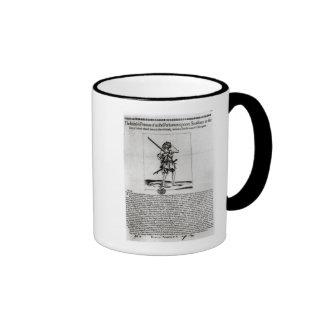 Dublin Broadsheet, 1647 Coffee Mugs