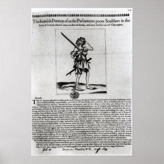 Dublin Broadsheet, 1647 Poster