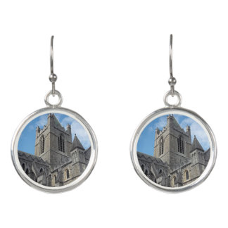 Dublin Christ Church Cathedral Drop Earrings