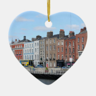 Dublin City on The Liffey Christmas Ornament