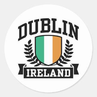 Dublin Classic Round Sticker