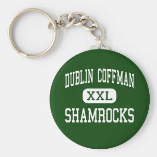 Dublin Coffman - Shamrocks - High - Dublin Ohio Key Ring