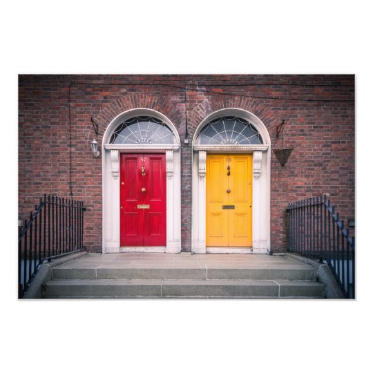 Dublin Doors Photo Print