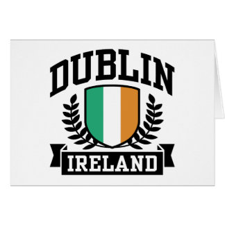 Dublin Greeting Card