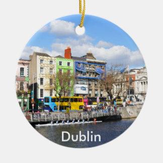 Dublin. Ireland Christmas Ornament