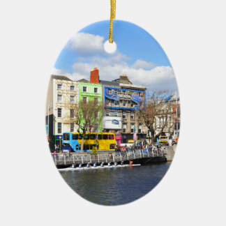 Dublin. Ireland Christmas Ornament