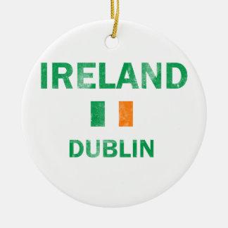 Dublin Ireland Designs Christmas Ornament