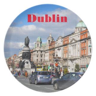 Dublin. Ireland Plate