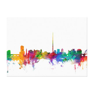 Dublin Ireland Skyline Canvas Print