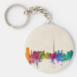 Dublin Ireland Skyline Cityscape Key Chains