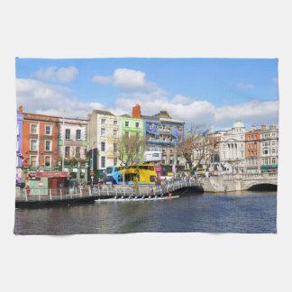 Dublin. Ireland Tea Towel