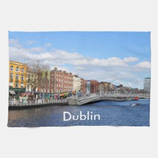 Dublin. Ireland Towel