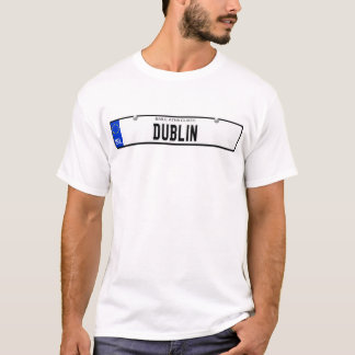Dublin - Irish Plate T-Shirt