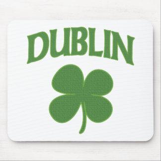 Dublin Irish Shamrock Mouse Mat