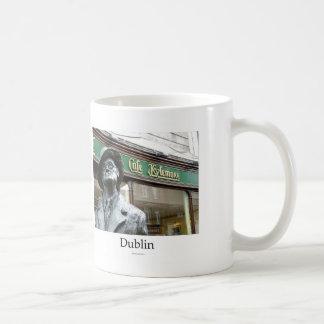 Dublin Irlanda Café Kylemore James Joyce Statue Taza De Café