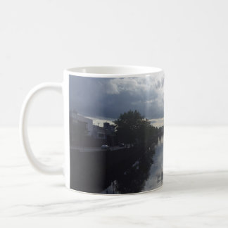 Dublin River Sunset Mug