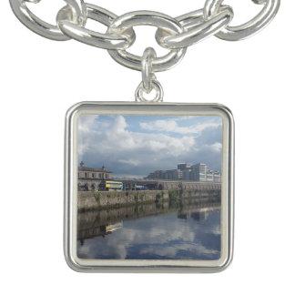 Dublin Riverbank Reflection Charm Bracelet