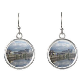 Dublin Riverbank Reflection Drop Earrings