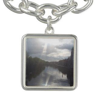 Dublin Sunrise Reflection Charm Bracelet