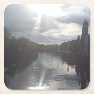 Dublin Sunrise Reflection Coaster