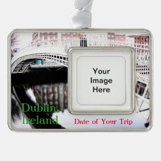 Dublin Travel Christmas Ornament Customisable