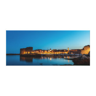 Dubrovnik after Dark Canvas Print