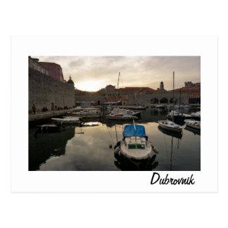 Dubrovnik Harbor Postcard