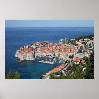 Dubrovnik Hrvatska Poster