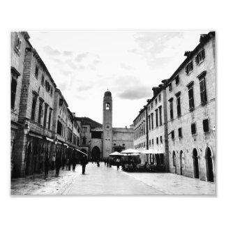 Dubrovnik Promenade Photo Print