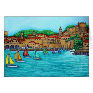 Dubrovnik Regatta Card