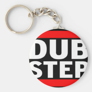 Dubstep Basic Round Button Key Ring