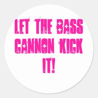 dubstep bass sticker