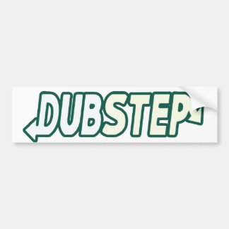 DUBSTEP Beat Fresh parody Bumper Sticker