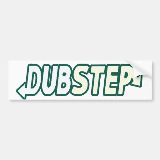 DUBSTEP Beat Fresh parody Bumper Stickers