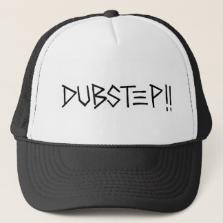 Dubstep!! (Black) Trucker Hat