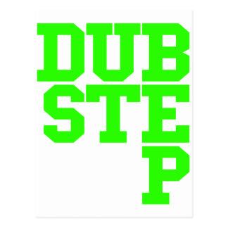 Dubstep Blockletter (Lime) Postcard