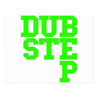 Dubstep Blockletter (Lime) Postcards