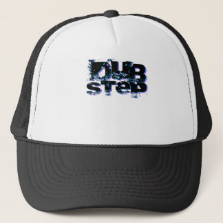 Dubstep Blue and Pink Trucker Hat