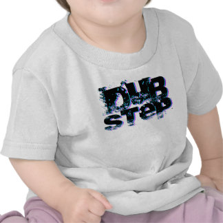 Dubstep Blue and Pink T Shirt