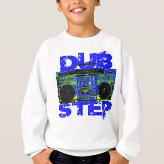 Dubstep Blue Boombox Sweatshirt