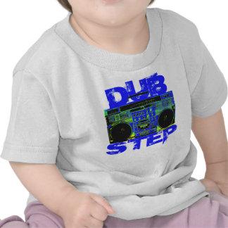 Dubstep Blue Boombox Shirt