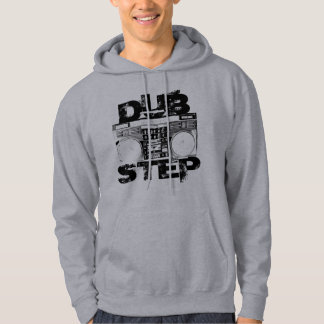 Dubstep Boombox Light Grey Hoodie