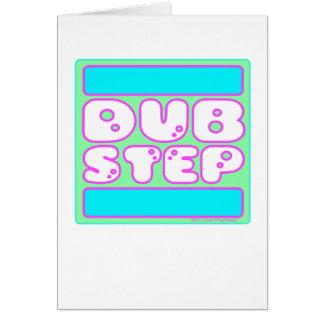 DUBSTEP Bubblegum Greeting Card