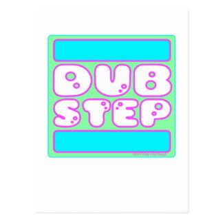DUBSTEP Bubblegum Postcard