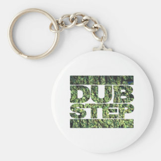 DUBSTEP Buds Dubstep music Basic Round Button Key Ring
