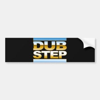 DUBSTEP chrome logo Bumper Sticker
